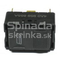 Ovládanie vypínač sťahovania okien Audi 80 4A0959855A