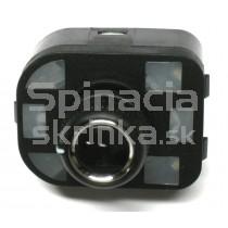 Ovládanie vypínač spätných zrkadiel Audi TT, chrom, 8R0959565
