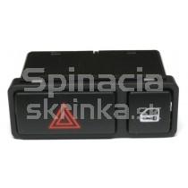 Vypínač výstražných svetiel s centrálnym zamykaním BMW X5 E53, 61318368920