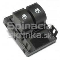 Ovládanie vypínač sťahovania okien Fiat Doblo II, 735461275