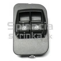 Ovládaci panel vypínač sťahovania okien Citroen Nemo, 735461275