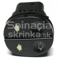 Ovládanie vypínač sťahovania okien Ford Fiesta Mk6, 1007910