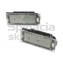 LED Osvetlenie ŠPZ Renault Clio III
