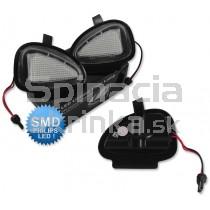 LED svetlo, podsvietenie spätného zrkadla, ľavé a pravé, VW Jetta IV od 2011