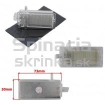 LED Osvetlenie skrinky pred spolujazdcom BMW E46, E90, E91, E92, E93 rad 3