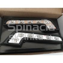 LED Denné osvetlenie DRL 09, 6 LED diod