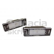 LED Osvetlenie ŠPZ Citroen C2