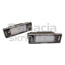 LED Osvetlenie ŠPZ Citroen C4