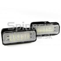 LED Osvetlenie ŠPZ Mercedes W211 Sedan + Combi, 02 - 08