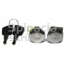 Vložka zámku, 2x kľúč Peugeot 205