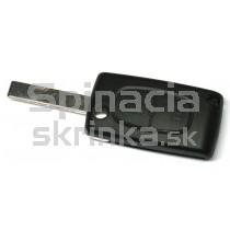 Obal kľúča, holokľúč pre Peugeot 607