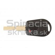 Obal kľúča, holokľúč pre BMW X3 E83, trojtlačítkový, vyrezávaný hrot
