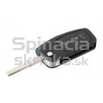 Obal kľúča, holokľúč pre Ford Fiesta, trojtlačítkový