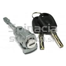 Vložka zámku, 2x kľúč Seat Ibiza III 02-08, ľavá
