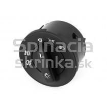 Vypínač svetiel pre Škoda Octavia II, bez funkcie auto, 1Z0941431E