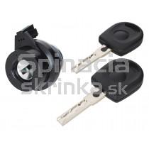 Zámok spínacej skrinky, 2x kľúč, Škoda Octavia II