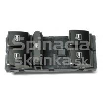 Ovládanie vypínač sťahovania okien VW Passat CC, chrom, 5ND959857