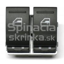 Ovládanie vypínač sťahovania okien VW T5, 7E0959855A