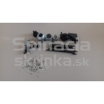 Vložka zámku prednej masky pre Ford Focus Mk2, kompletná sada