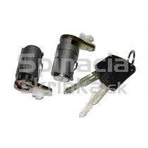 Vložka zámku, 2x kľúč Peugeot 307, 9170R4