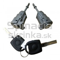 Vložka zámku, 2x kľúč VW Lupo, 97-05 ľavá+pravá strana, 98-05