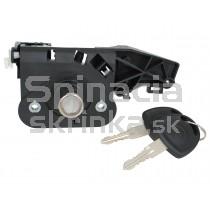 Zámok kufrových dverí Opel Corsa C, Kompletný, 93329756